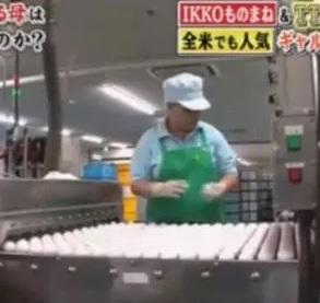 母親は卵工場でお仕事をしている